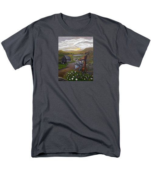 Peace In The Valley Men's T-Shirt  (Regular Fit) by Sheri Keith