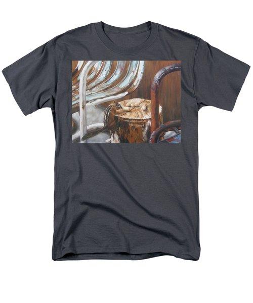 Men's T-Shirt  (Regular Fit) featuring the painting Peanuts by Lori Brackett