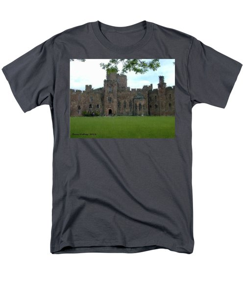 Peckforton Castle Men's T-Shirt  (Regular Fit) by Bruce Nutting