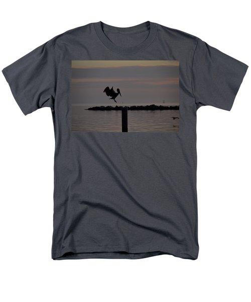 Pelican Landing Men's T-Shirt  (Regular Fit) by Leticia Latocki