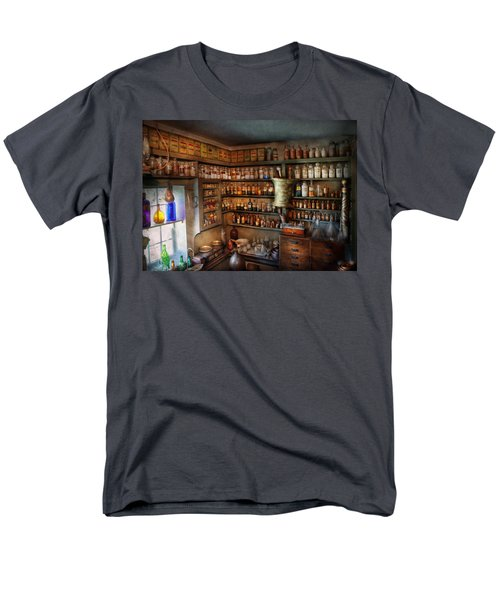 Pharmacy - Medicinal Chemistry Men's T-Shirt  (Regular Fit) by Mike Savad