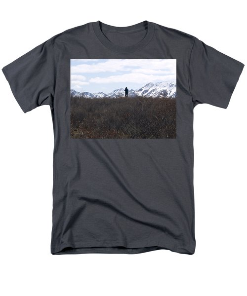 Photographing Nature   Men's T-Shirt  (Regular Fit) by Tara Lynn