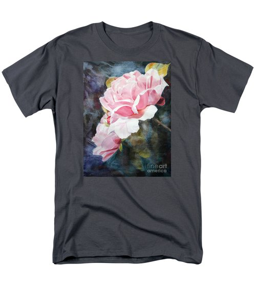 Pink Rose Caroline Men's T-Shirt  (Regular Fit) by Greta Corens