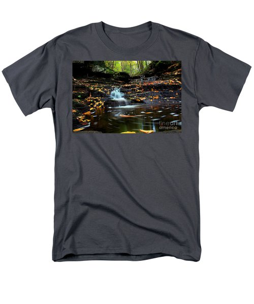 Pipestem Falls Men's T-Shirt  (Regular Fit)
