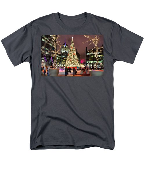 Pittsburgh Holiday Season 2 Men's T-Shirt  (Regular Fit) by Emmanuel Panagiotakis