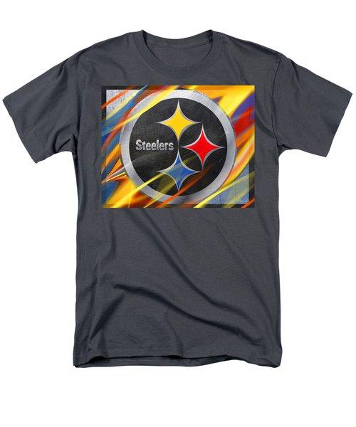 Pittsburgh Steelers Football Men's T-Shirt  (Regular Fit) by Tony Rubino