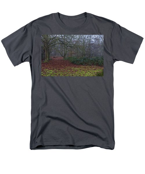 Men's T-Shirt  (Regular Fit) featuring the photograph Plantation Leaves by Maj Seda