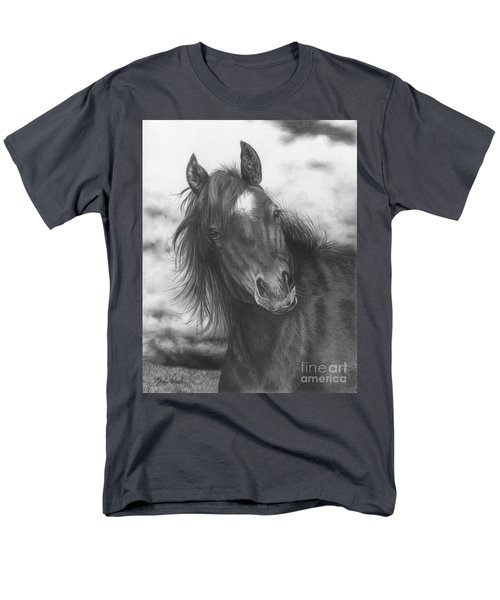 Playing Before The Storm Men's T-Shirt  (Regular Fit)