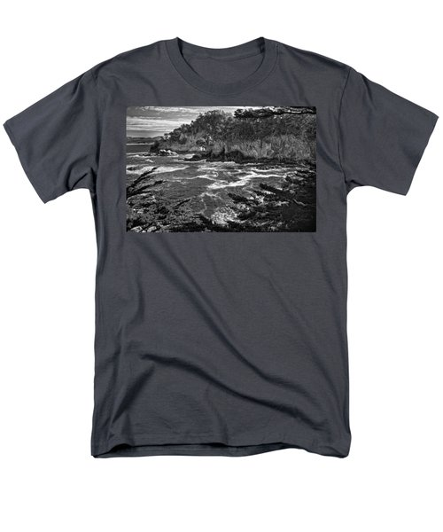 Men's T-Shirt  (Regular Fit) featuring the photograph Point Lobo  by Ron White