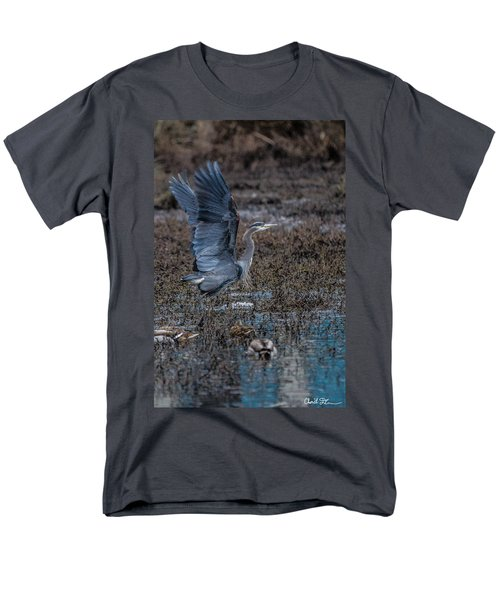 Poised For Flight Men's T-Shirt  (Regular Fit) by Charlie Duncan