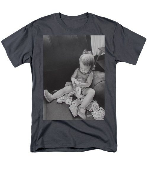 Pokerface Men's T-Shirt  (Regular Fit)