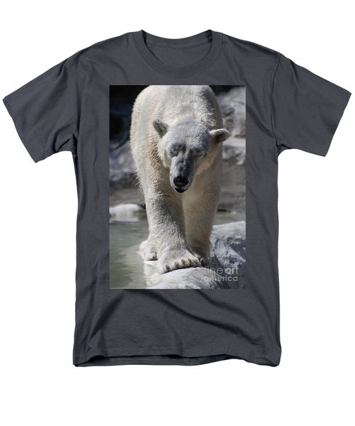Polar Bear Balance Men's T-Shirt  (Regular Fit) by DejaVu Designs