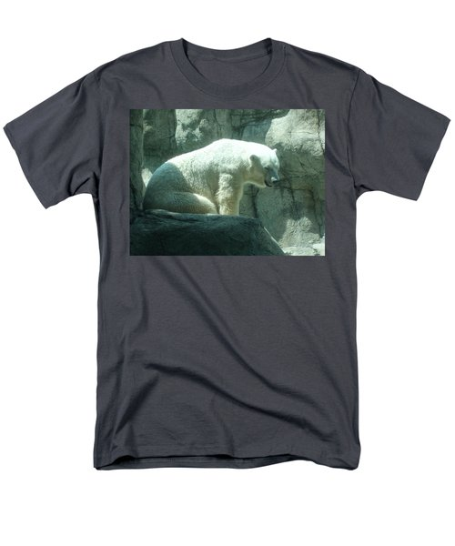 Polar Bear Men's T-Shirt  (Regular Fit) by Fortunate Findings Shirley Dickerson