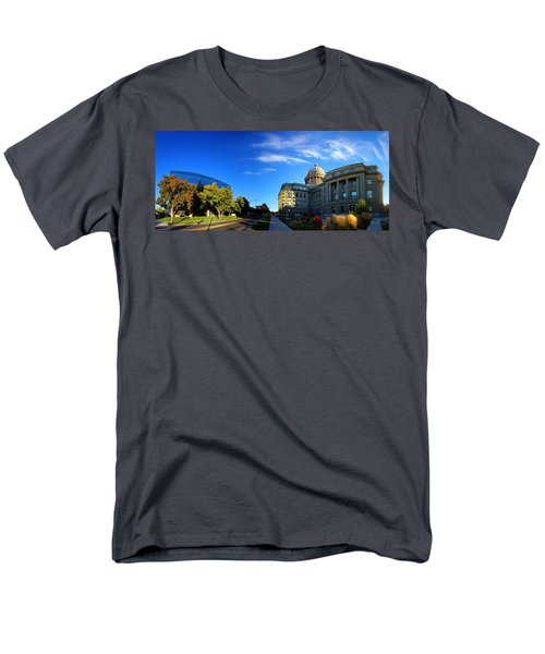 Men's T-Shirt  (Regular Fit) featuring the photograph Political Warping by David Andersen