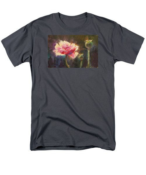 Poppy Glow Men's T-Shirt  (Regular Fit) by Karen Whitworth