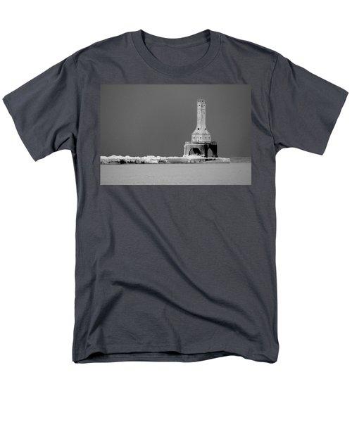 Port Washington Harbor Men's T-Shirt  (Regular Fit) by Tiffany Erdman