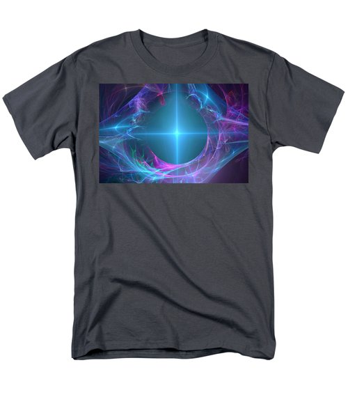 Men's T-Shirt  (Regular Fit) featuring the digital art Portal To The Unknown by Svetlana Nikolova