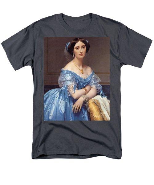 Portrait Of The Princesse De Broglie Men's T-Shirt  (Regular Fit)