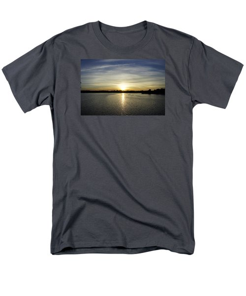 Potomac Sunset Men's T-Shirt  (Regular Fit) by Laurie Perry