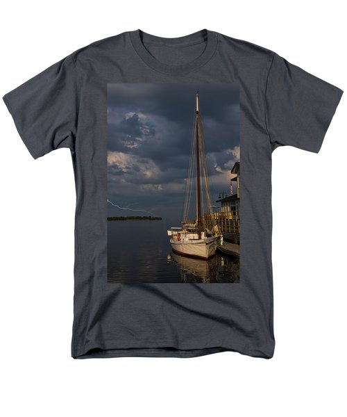 Preparing For The Storm Men's T-Shirt  (Regular Fit) by Chris Flees