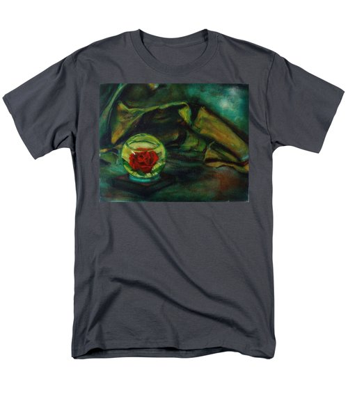 Preserved Rose . . Draped Canvas Men's T-Shirt  (Regular Fit) by Sean Connolly