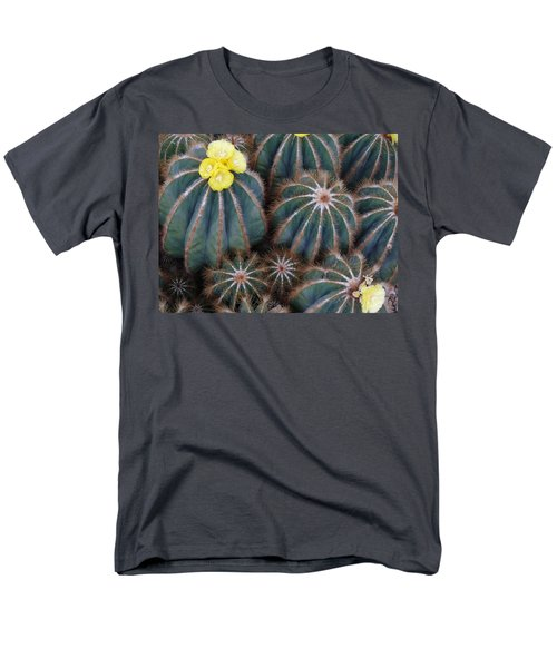 Men's T-Shirt  (Regular Fit) featuring the photograph Prickly Beauties by Evelyn Tambour