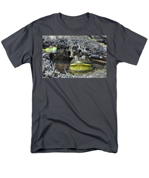 Men's T-Shirt  (Regular Fit) featuring the photograph Bullfrog by Glenn Gordon