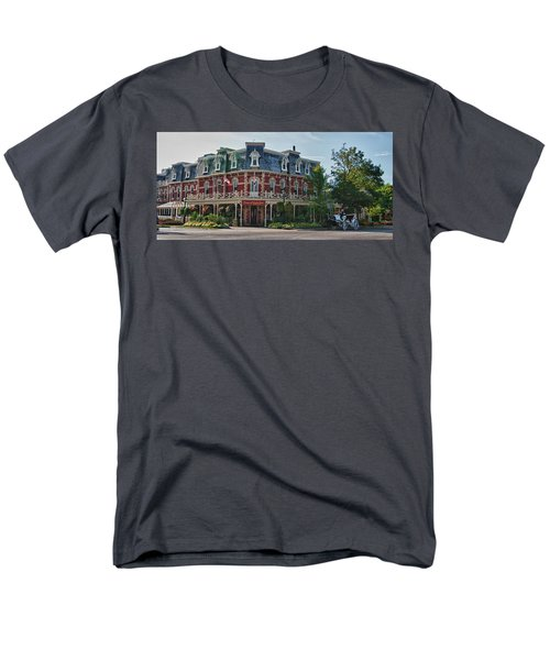 Prince Of Wales Hotel 9000 Men's T-Shirt  (Regular Fit) by Guy Whiteley