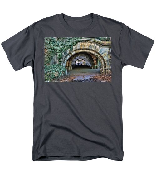 Prospect Park Passage - Brooklyn Men's T-Shirt  (Regular Fit) by Jeffrey Friedkin