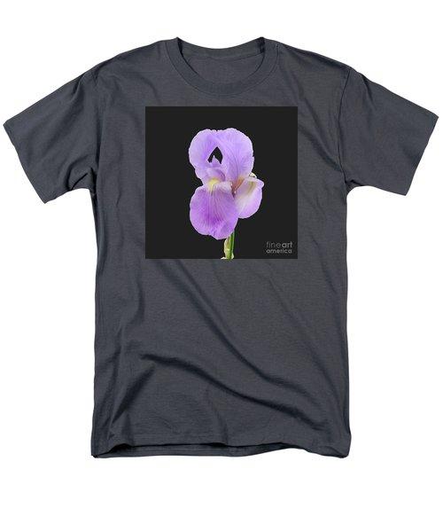 Purple Iris Men's T-Shirt  (Regular Fit) by Scott Cameron