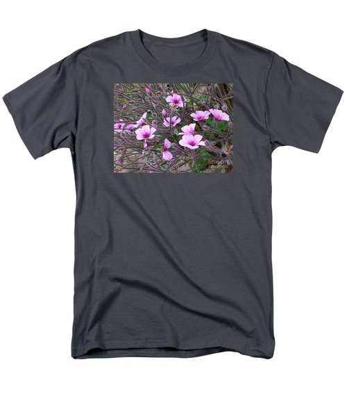 Men's T-Shirt  (Regular Fit) featuring the photograph Purple Flowers by Jasna Gopic