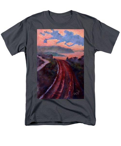 Railroad Men's T-Shirt  (Regular Fit)