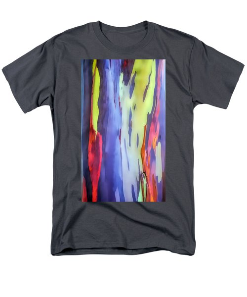 Rainbow Eucalyptus 2 Men's T-Shirt  (Regular Fit) by Dawn Eshelman