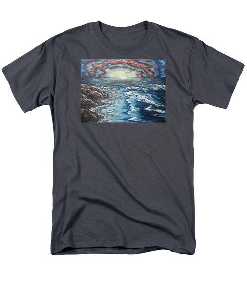 Rainbow Skies Men's T-Shirt  (Regular Fit) by Cheryl Pettigrew