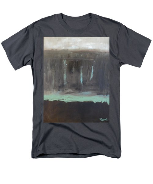 Rainy Day Men's T-Shirt  (Regular Fit) by Claudia Goodell
