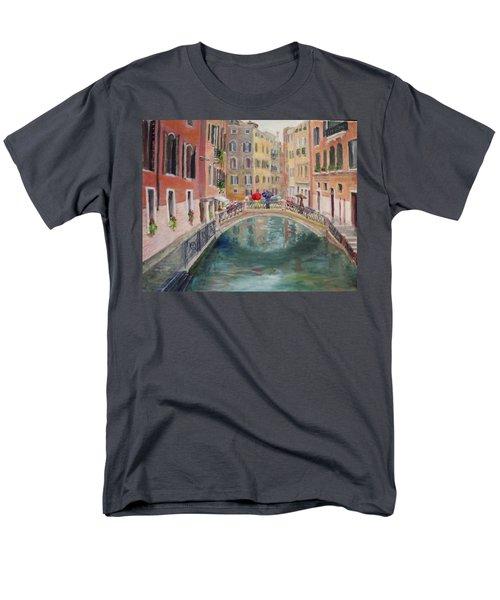 Rainy Day In Venice Men's T-Shirt  (Regular Fit)
