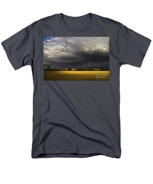 Rapefield Under Dark Sky Men's T-Shirt  (Regular Fit) by Heiko Koehrer-Wagner