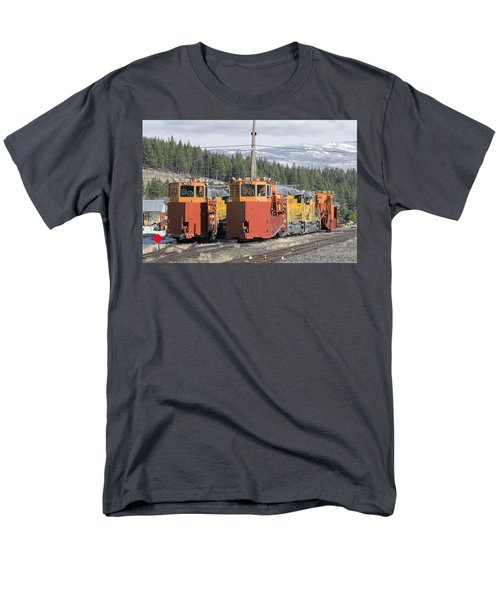 Ready For More Snow At Donner Pass Men's T-Shirt  (Regular Fit) by Jim Thompson