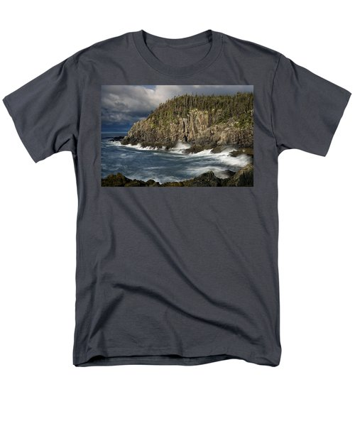 Receding Storm At Gulliver's Hole Men's T-Shirt  (Regular Fit) by Marty Saccone