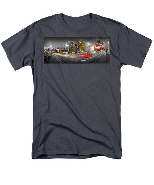 Red Lights Sydney Nights Men's T-Shirt  (Regular Fit)