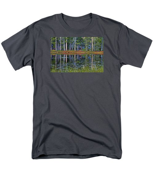 Reflecting Nature Men's T-Shirt  (Regular Fit) by Duncan Selby