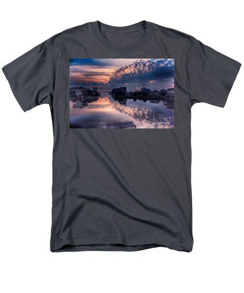 Reflecting On North Carolina Men's T-Shirt  (Regular Fit) by Tony Cooper