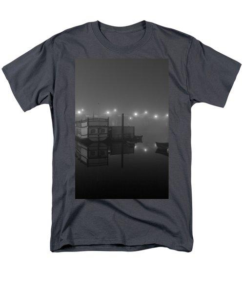 Reflection On Misty Thames  Men's T-Shirt  (Regular Fit) by Maj Seda