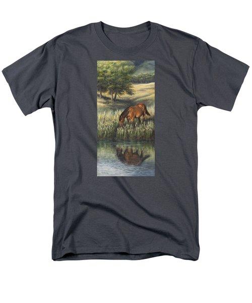 Reflections Men's T-Shirt  (Regular Fit) by Kim Lockman