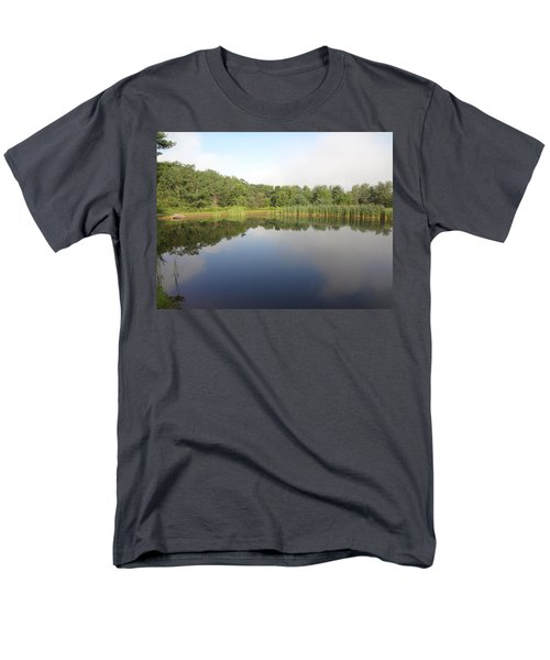 Reflections Of A Still Pond Men's T-Shirt  (Regular Fit) by Michael Porchik