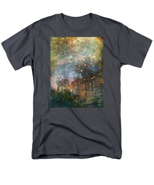 Men's T-Shirt  (Regular Fit) featuring the photograph Reflective Waters by John Rivera
