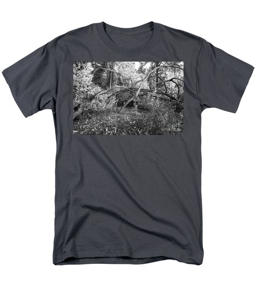 Men's T-Shirt  (Regular Fit) featuring the photograph Tropical Shade by Roselynne Broussard