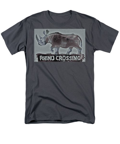 Men's T-Shirt  (Regular Fit) featuring the photograph Rhino Xiv by Larry Campbell
