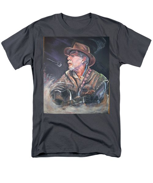 Men's T-Shirt  (Regular Fit) featuring the mixed media Rising Out Of The Sands Of Time by Peter Suhocke