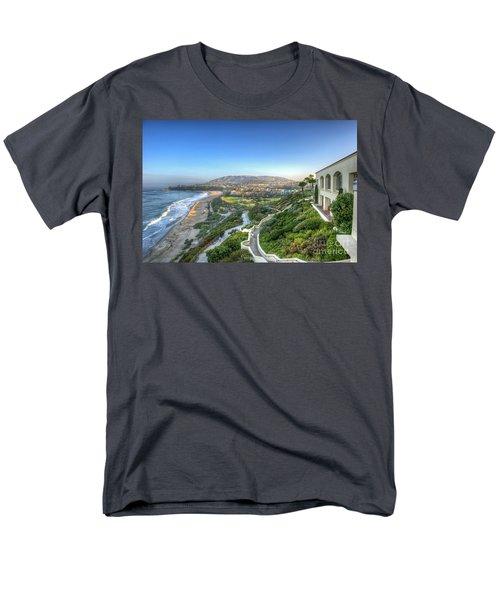 Ritz-carlton Laguna Niguel Ocean View Men's T-Shirt  (Regular Fit) by David Zanzinger